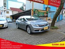 Honda Civic 1.8 LXS 2015 Único Dono