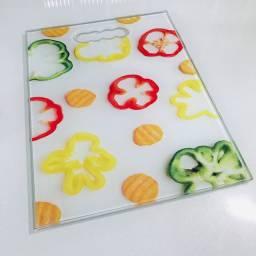 Tábuas de churrasco de vidro temperado resistente e higiênica