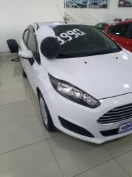 Ford new fiesta 2017 se hatch branco manual