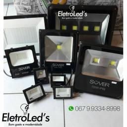 Refletores em LED ip66  promoção 1 ano de garantia