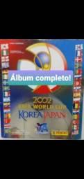 Álbum Figurinhas Copa do Mundo 2002