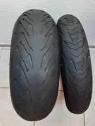 Pneus Michelin road 5 190/55 17 120/70 17