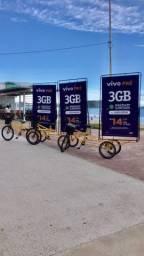 Bikedoor triciclo propaganda