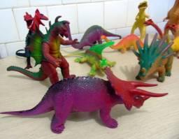 Dinossauros Coleção com 12 peças grandes