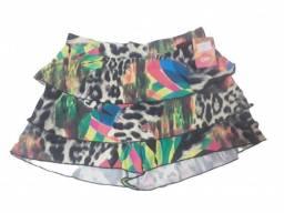 Short saia de academia (colorido)