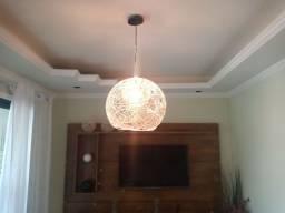 Luminárias e abajur rústicos