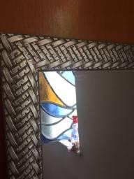 Vendo espelho semi novo