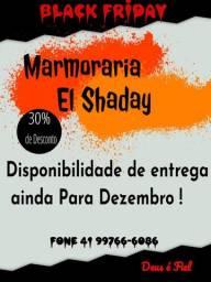 Marmoraria El Shaday entregas disponível ainda para Dezembro