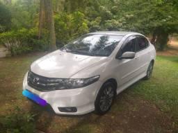 Lindo Honda City LX 1.5 Auto Couro Gasol/Álcool/GNV5G