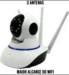 Camera Ultra Hd Sem Fio 3 Antenas Sensor de Movimento Visao Noturna