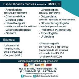 Clinica Popular( rio comprido)