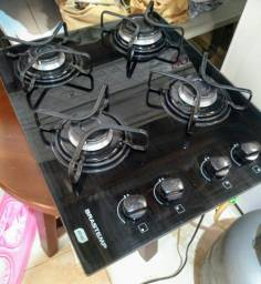 Cooktop Brastemp 4 bocas com acendimento automático Funcionando perfeitamente