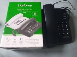 Telefone fixo Intelbrás- Novo