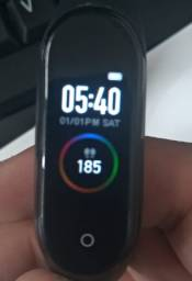 Relógio smartband bracelet pulseira inteligente m4 (com nota/recibo)