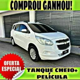 TANQUE CHEIO SO NA EMPORIUM CAR!!!! SPIN 1.8 5 LUGARES ANO 2014 COM MIL DE ENTRADA