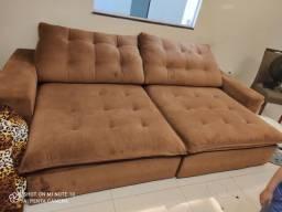 Título do anúncio: Sofá cama retrátil 3 metros semi novo