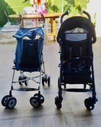 Carrinho de bebê/passeio Chicco Liteway e Chicco Caddy