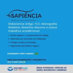 Título do anúncio: Artigo, TCC, Monografia, Relatório, Resumo e muito mais!