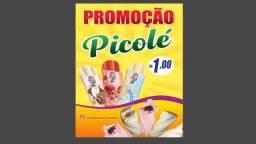 Título do anúncio: Picolé sorvete e açaí.