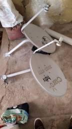 Duas antenas 100$ cada