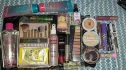 Kit Completo de Maquiagem e Hidratação