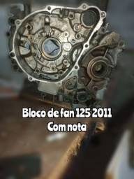 Bloco de fan 125 2011