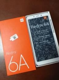 Xiaomi 6A 16GB - Semi-Novo na Caixa