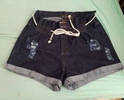 bermuda jeans tamanho 48