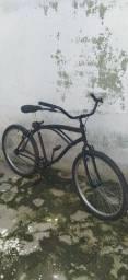 Beach bike preta aro 26 com NOTA FISCAL