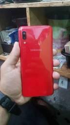 Samsung A20 32gb com biometria sem trincado