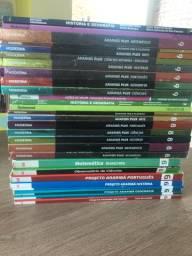 +de 20 livros do 6º, 8º e 9º MODERNA