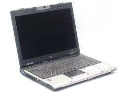 Título do anúncio: Notebook Acer Aspire 5050 AMD Turion 64 MK-36 80GB HD 3GB ram até 12x