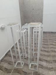 Colunas em alumínio