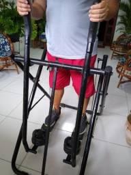 Simulador de caminhada reforçado para 120kg