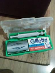 Antigo e raro estojo Gillette