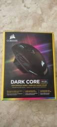 Título do anúncio: Mouse Corsair Dark Core Wireless Sem Fio ótimo estado