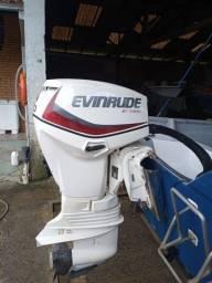 Título do anúncio: Motor de Popa Evinrude 60 HP.