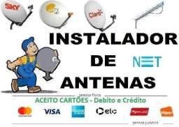 Título do anúncio: Instalação de antenas e configuração de equipamento