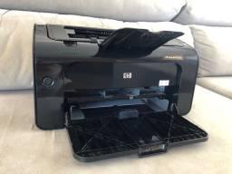 Impressora HP Laserjet P1102W - Conexão USB ou Sem Fio