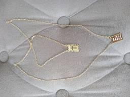 Escapulário banhado a ouro 18 k - Linda jóia