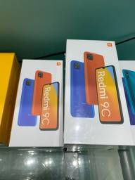 Xiaomi Redmi 9c 64GB tela 6.53 5000mAh bateria novos