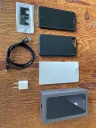 Iphone 8 plus 64gb + capa e cabo VX Case