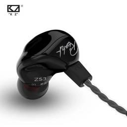 Título do anúncio: Fone Kz Zs3 + Case