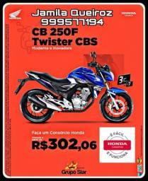 Motoclicleta Cb twister 250