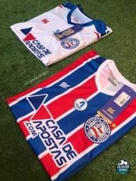Camisas do Bahia - Branca e Tricolor 2021