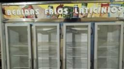 Expositor refrigerado comercial gelopar