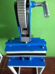 Máquina manual de fazer chinelo