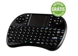 Mini teclado sem fio touch pad pc android tv box ou smart - entrega gratis