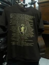Camisa adam adulto P marrom malha
