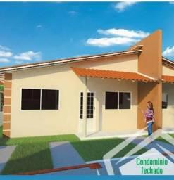 Condomínio fechado casa com área de lazer R$ 89.900,00